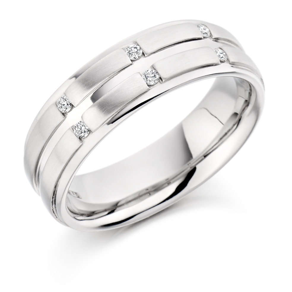 Men's Round Brilliant Diamond Ring