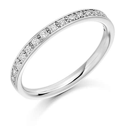 Grain Set Diamond Ring