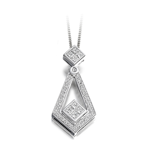 Diamond Deco Pendant