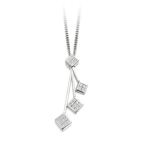 Diamond Constellation Pendant