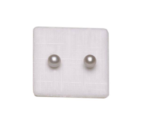 Pearl Stud Earrings by Bijoux Jewels