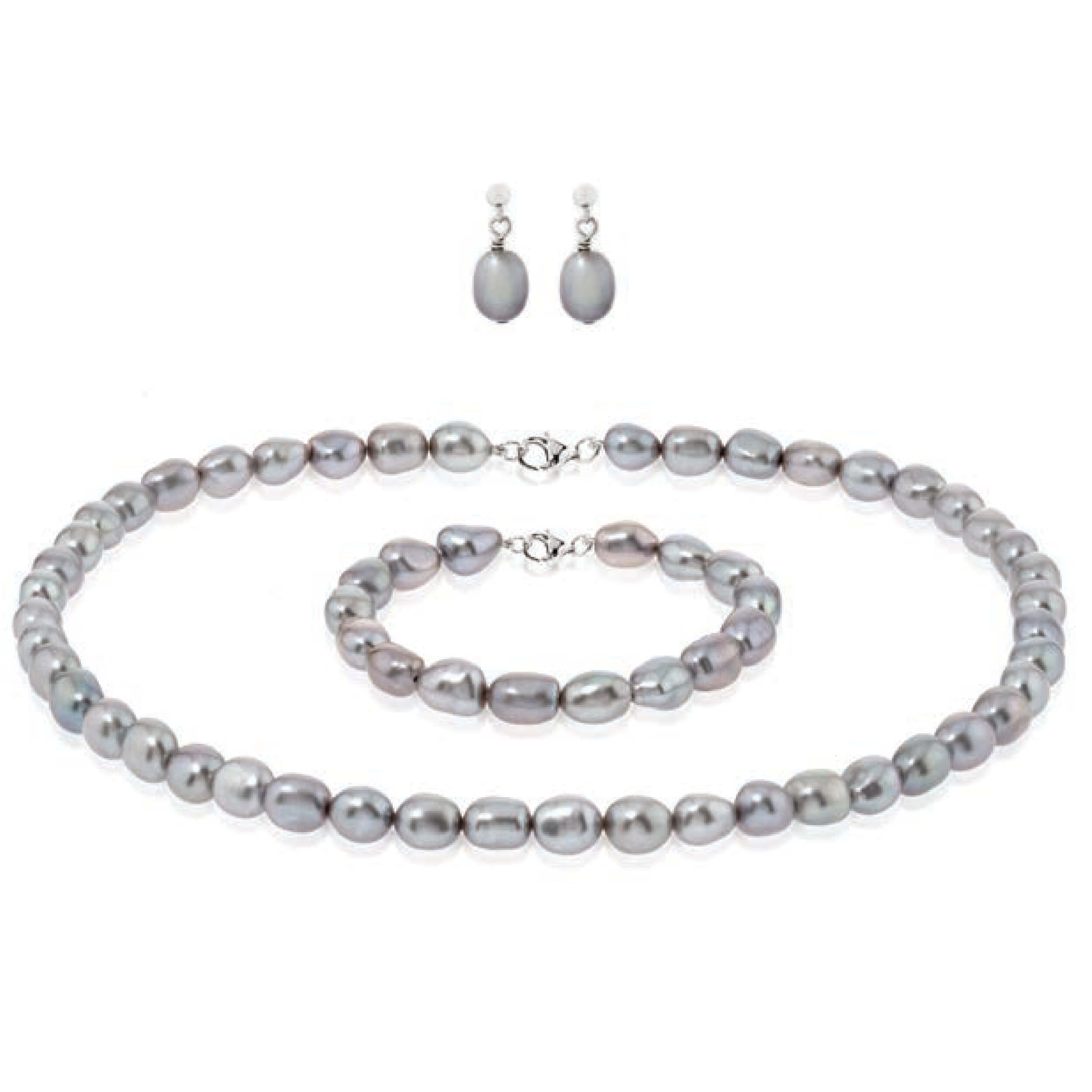 Pearl Jewellery Set by Bijoux Jewels