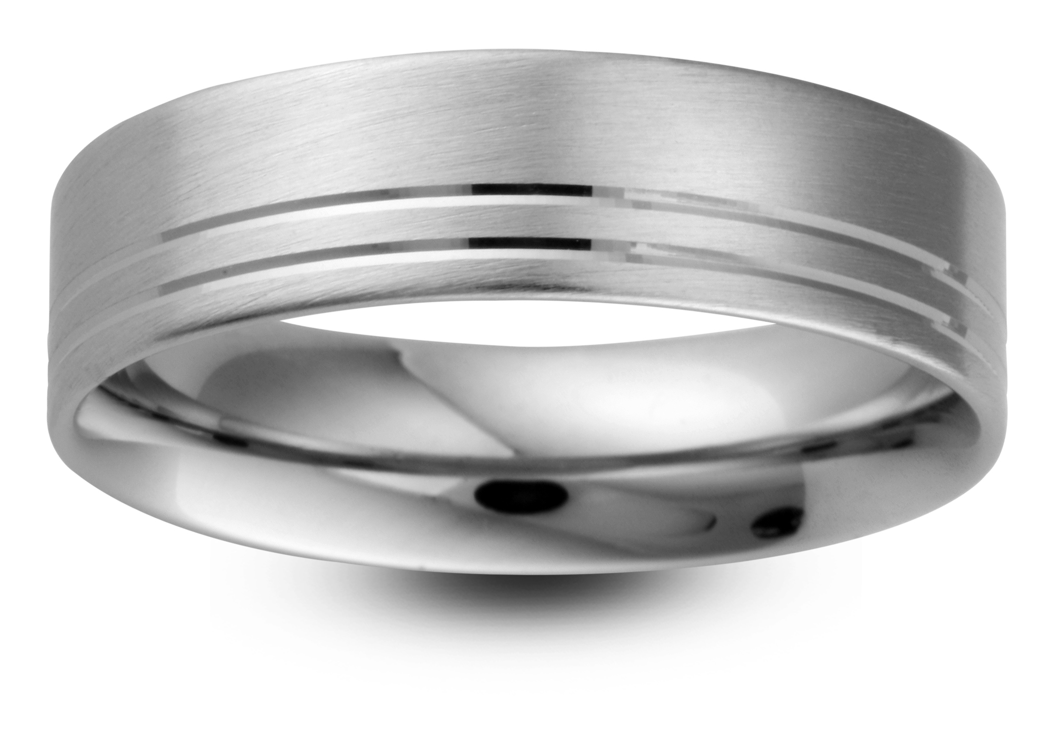 Men's Patterned Wedding Ring