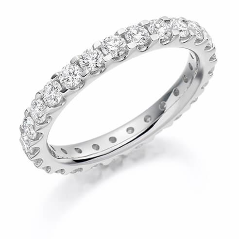 Full Set Round Diamond Ring