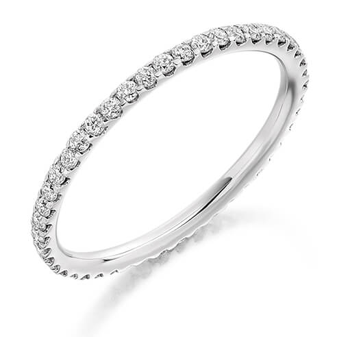 Full Set Round Diamond Ring