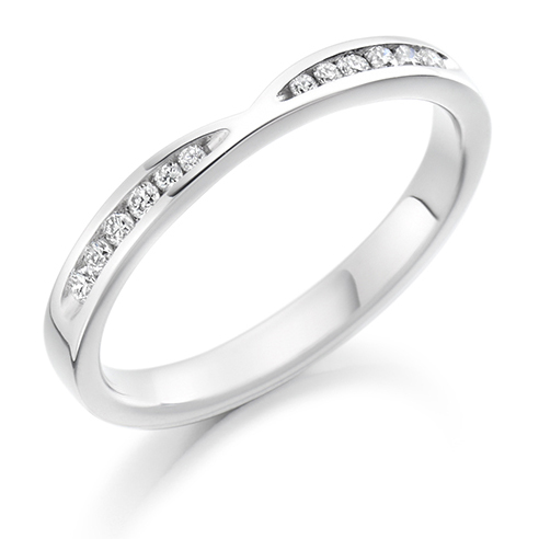 Round Brilliant Cut Out Diamond Ring
