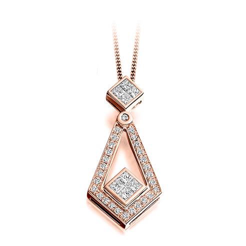 Diamond Deco Pendant